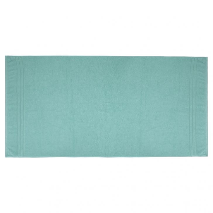 Bath Towel Nora Aqua Cotton Bath Towels in Aqua Colour by Living Essence