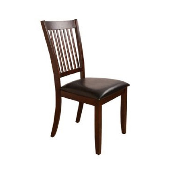Phacelia Solid Wood Dining Chair Set of Two in Cappucino Colour by HomeTown