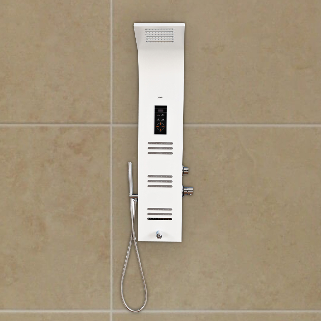 Nicolas Shower Multifunctions in White Colour by HomeTown