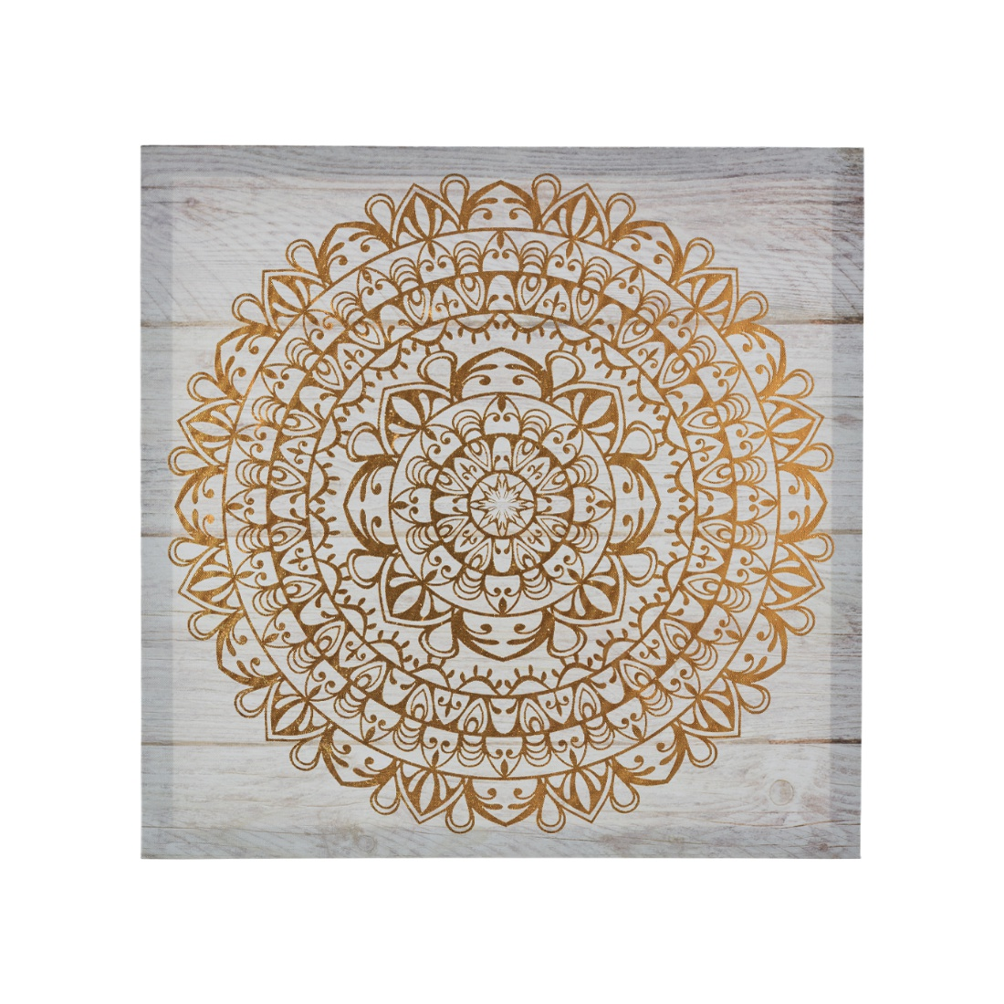 Craig Ornate With Gold Painting Canvas Paintings in Multicolor Colour by Living Essence