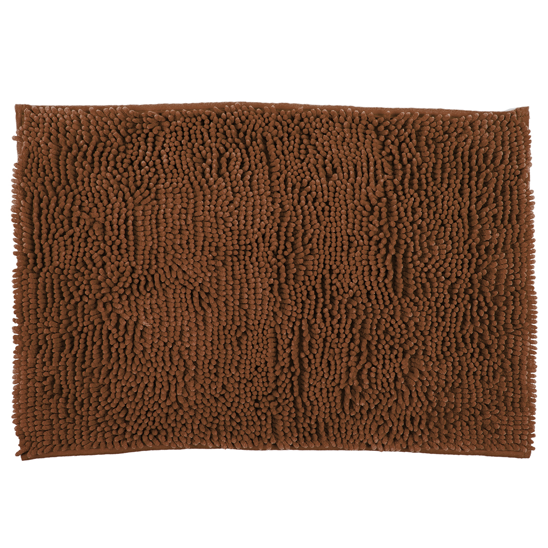 Bath Mat Nora Chenille Brown Chenille Bath Mats in Brown Colour by Living Essence