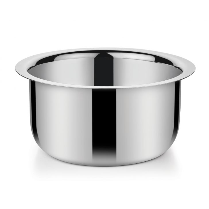 Milk Pan 2400 ml SS CS11ROSS01 Stainless steel Sauce Pans in Stainless Steel Colour by Bonita