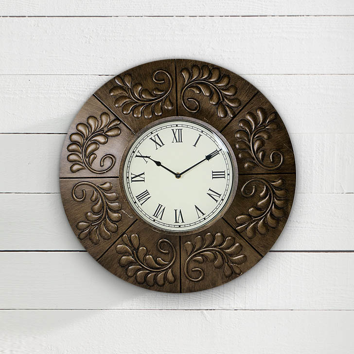 HomeTown Plastic Fiber And Glass Wall Classic Clocks by HomeTown