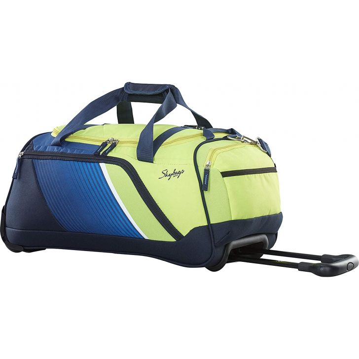 Arco 57 cm Polyester Duffle on Wheel in Navy Colour by Skybags