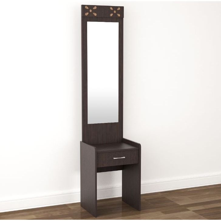 Relaxo Engineered Wood Dressing Table in Wenge Colour