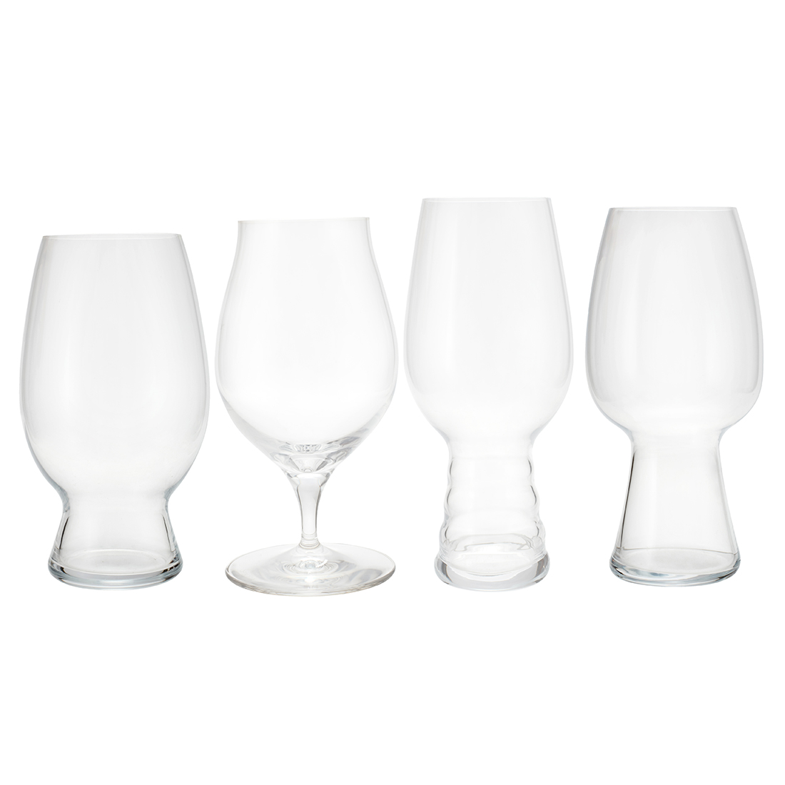 Spiegelau Craft Beer Glasses Set Of 4 Crystalline Glass Glasses & Tumblers in Glass Colour by Living Essence