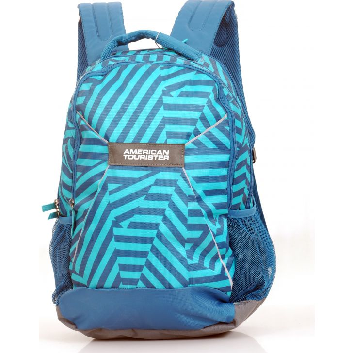 American Tourister Flash Backpack Medium (Blue)