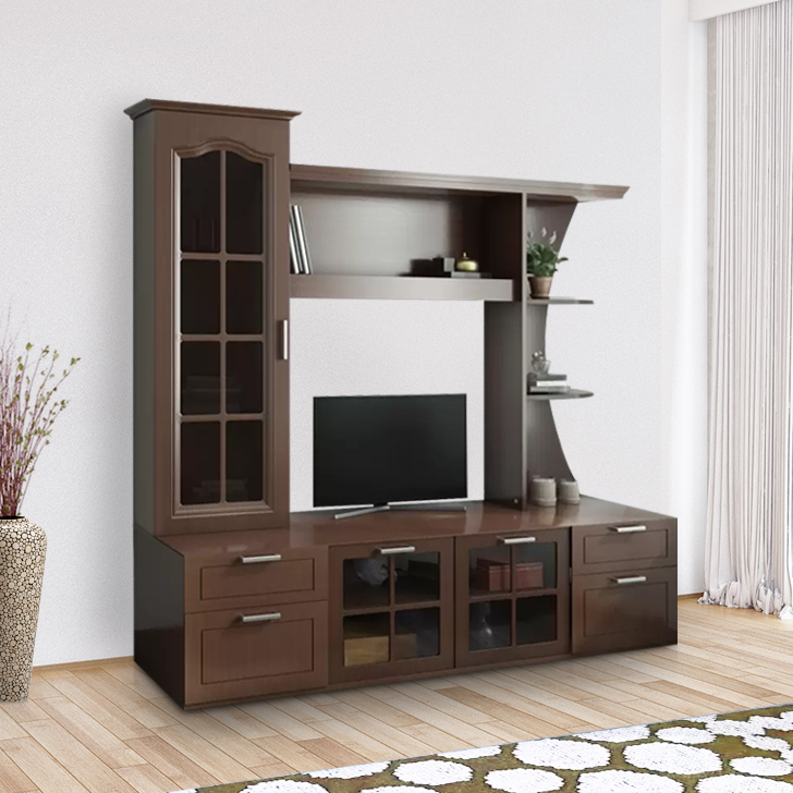 Mandrin Engineered Wood TV Unit in Wnge Colour by HomeTown