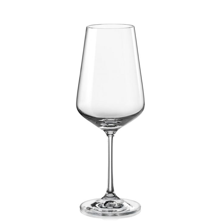 Bohemia Crystal Sandra wine Glass 450ml set of 6 pcs
