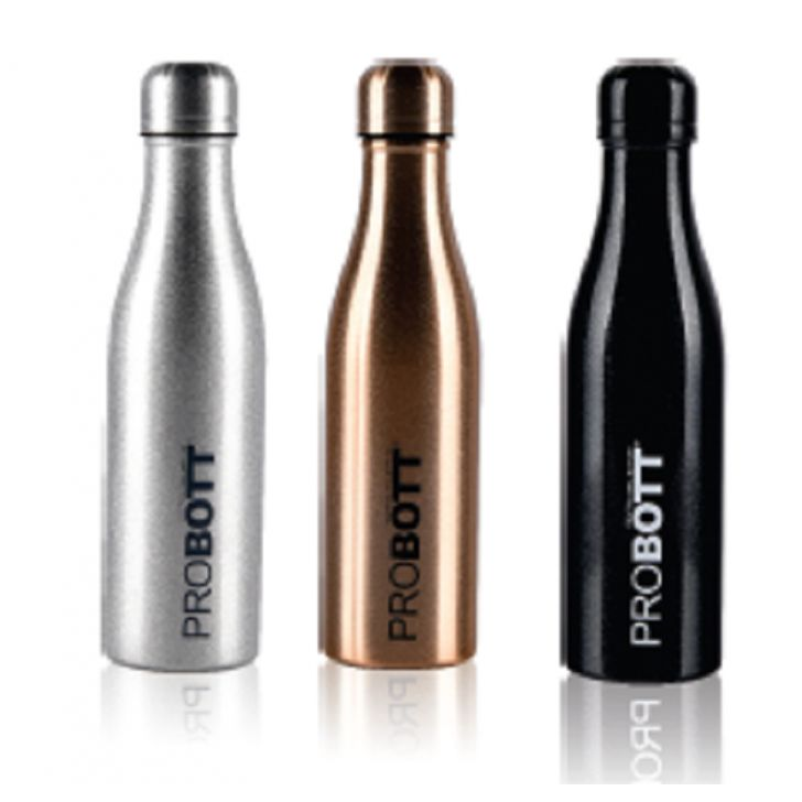 Probott Vacuum Flask 500 Ml Assorted Stainless steel Thermoware in Silver / Gold / Black Colour by Probott