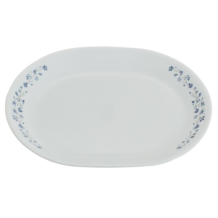 Corelle Serving Platter Lila Blush Vitrelle Platters in White Colour by Corelle