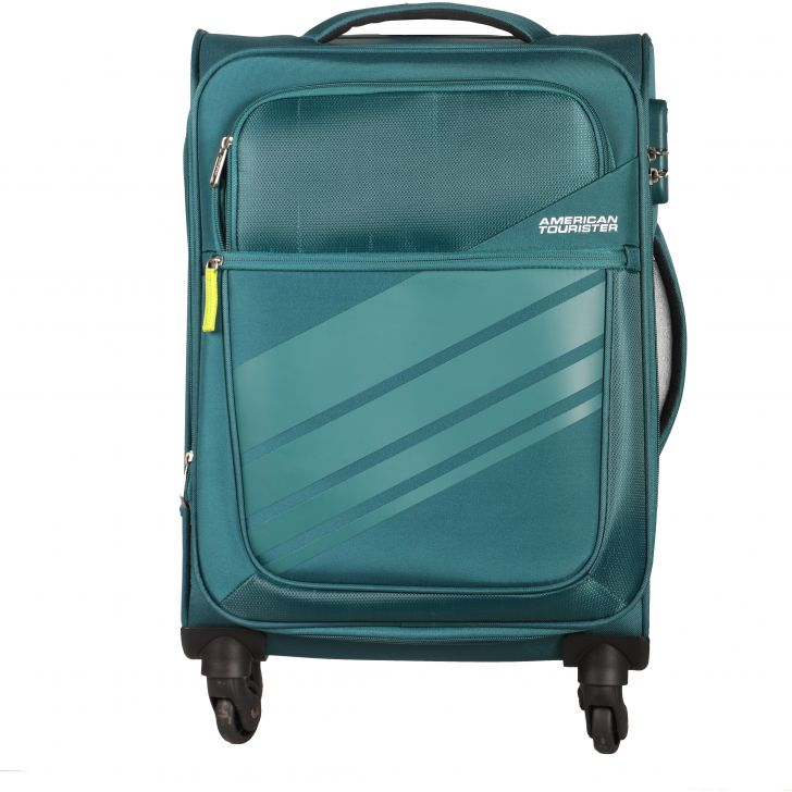 American Tourister Stirling Spinner Soft Trolley 55 cm (Teal)