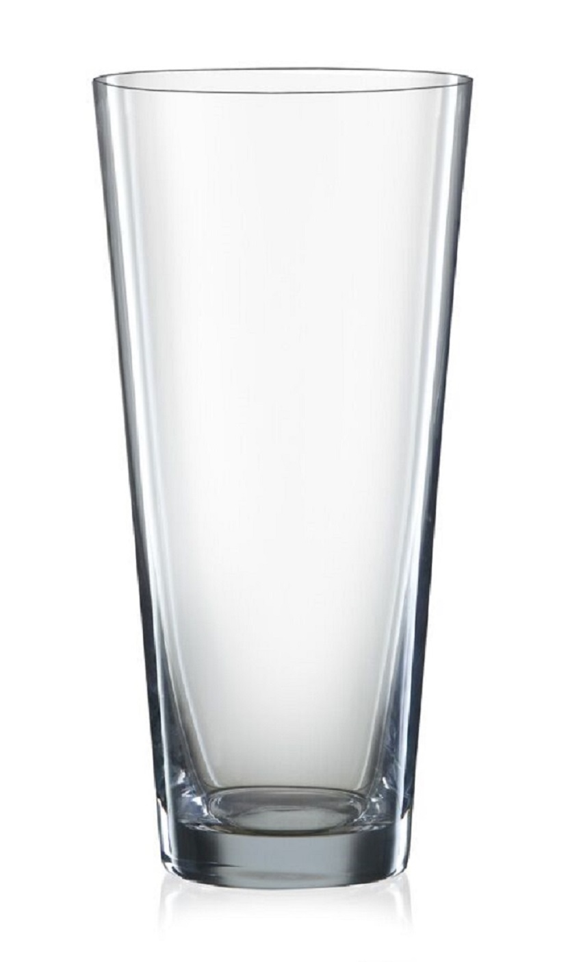 Bohemia Crystal Vase (290 mm) Bar Glassware in Transparent Colour by Bohemia