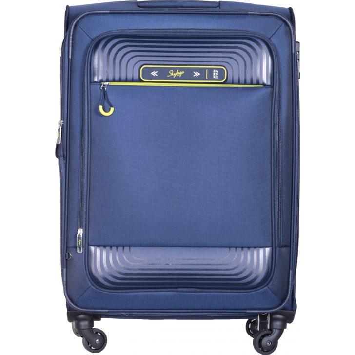 Skybags Quartz Spinner Soft Trolley 70 cm (Blue)