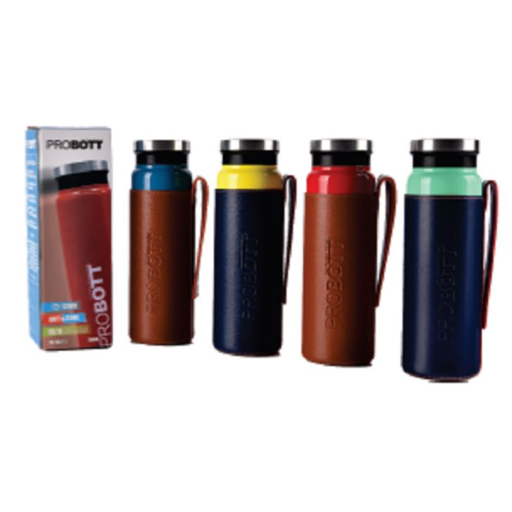 Probott Multicolour Vaccum Flask 750 Ml Stainless steel Thermoware in Red / Blue / Yellow / Green Colour by Probott