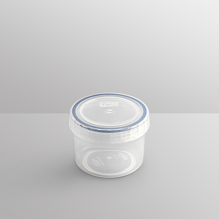 Lock & Lock Round Container 150 Ml Polypropylene Containers in Transparent Colour by Lock & Lock