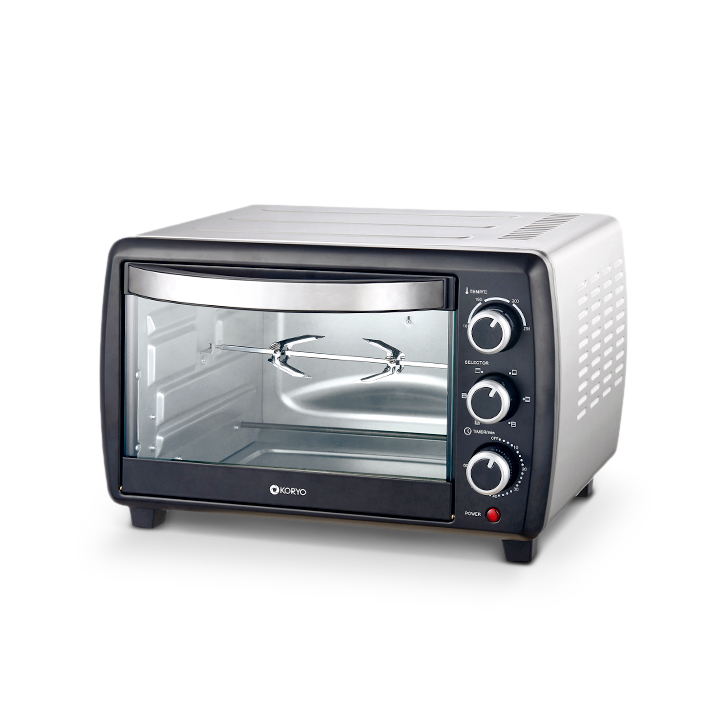 Oven Toaster Grill (1500 W) - 23 Litres - Black by Koryo