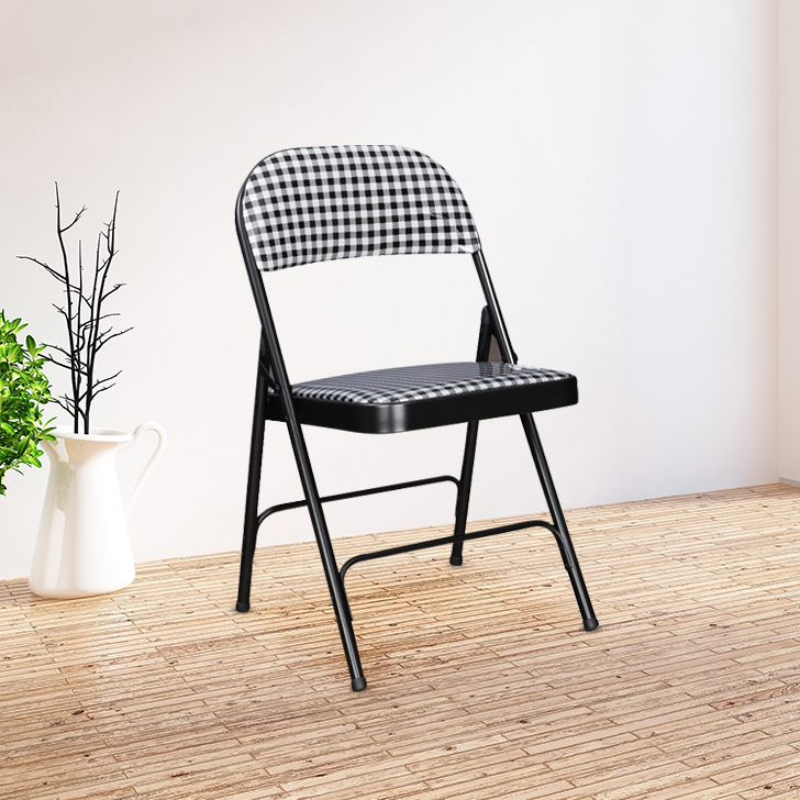 Clair Folding Chair in Black Colour by HomeTown
