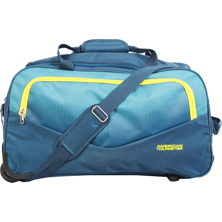American Tourister Ohio Wheel on Duffle 55 cm (Blue)