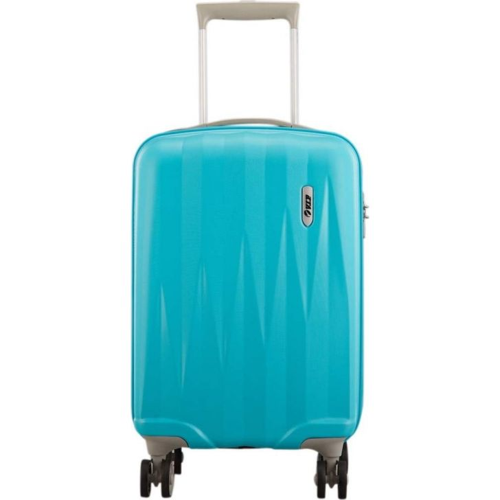 VIP Zapper 55 cm Polycarbonate Hard Trolley in Blue Colour by VIP