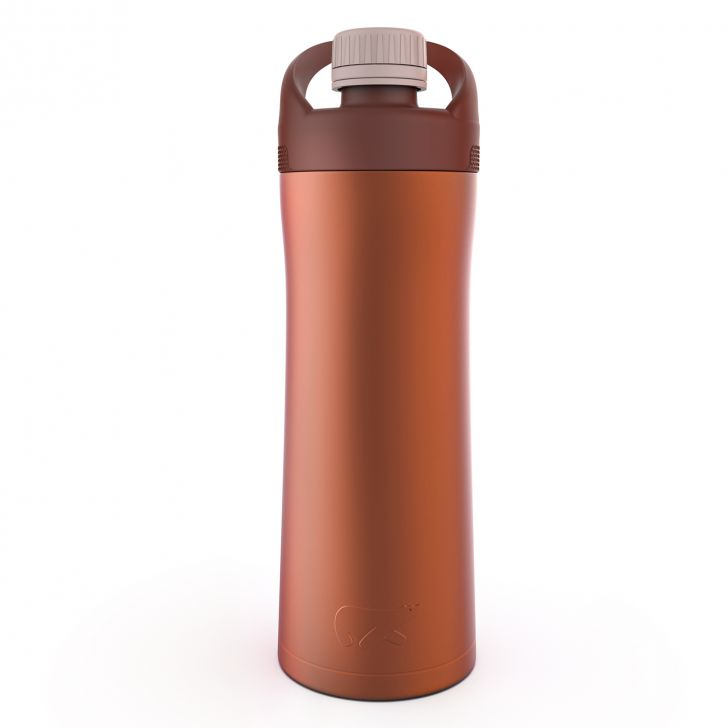 HydeTwist Stainless steel Insulated Bottle 550 ml in Copper Colour