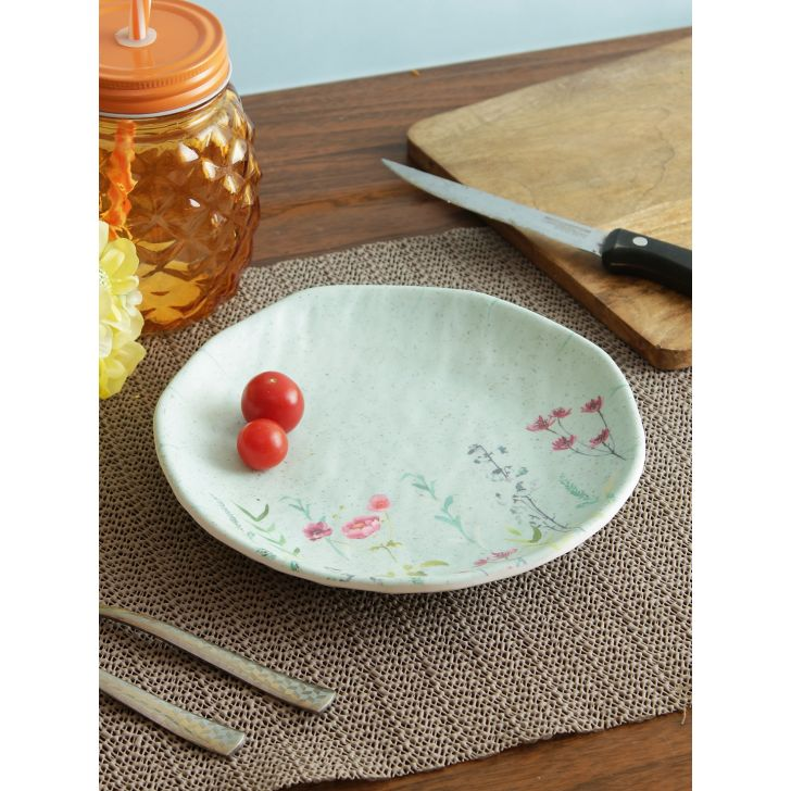 Nora Tropical Melamine Plate 18.5 Cm in Multi Colour by Living Essence