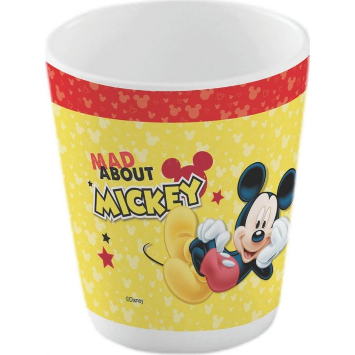 Mickey Melamine Kids Glass in Multi Colour by Servewell