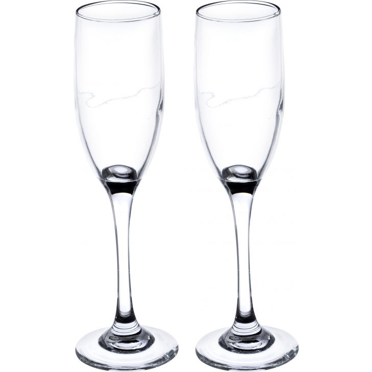 Infinity Goblet Glass 190 Ml Set Of 6 by Sanjeev Kapoor