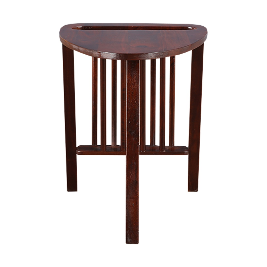 Noel Rubber Wood Outdoor Table in Chest Nut Colour by HomeTown