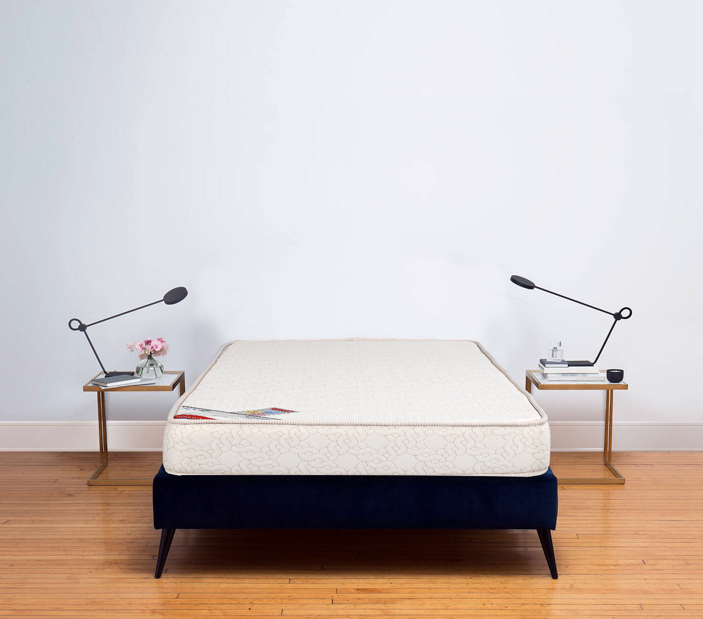 Spinepro Coir & Foam Single Bed Mattress (75*36*5) in Cream Colour by HomeTown