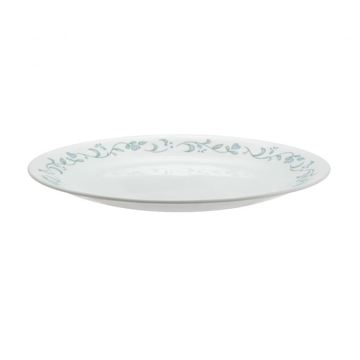 Corelle Country Cottage Medium Plate Vitrelle Plates in White Colour by Corelle