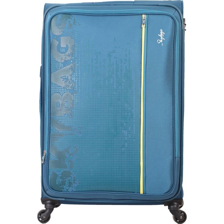 Skybags Zillion Spinner 81 cm Soft Trolley (Navy Blue)