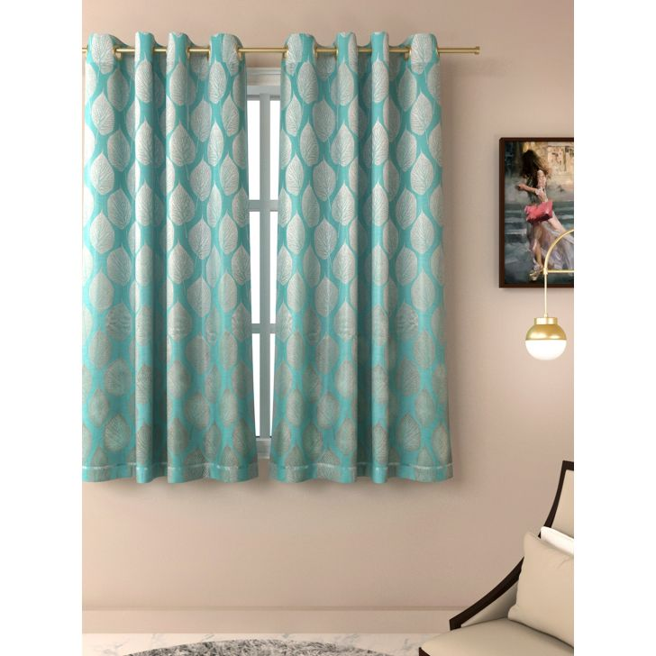 Living Essence Amour Jacquard Window Curtain Set Of 2