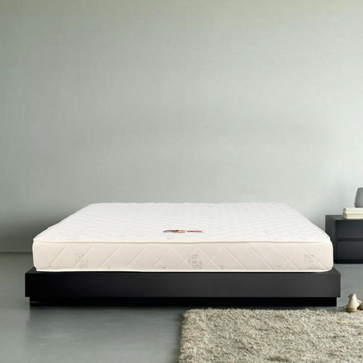 Lawrence PU Foam Queen Bed Mattress (78*60*5) in Off White Colour by HomeTown