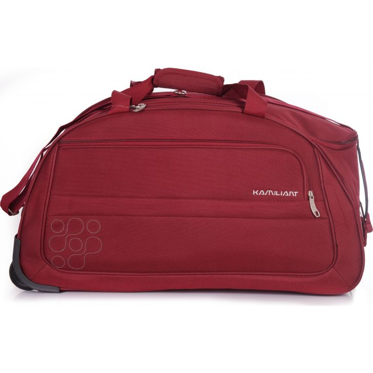 Kamiliant by American Tourister Gaho Duffle on Wheel 60 cm (Maroon)