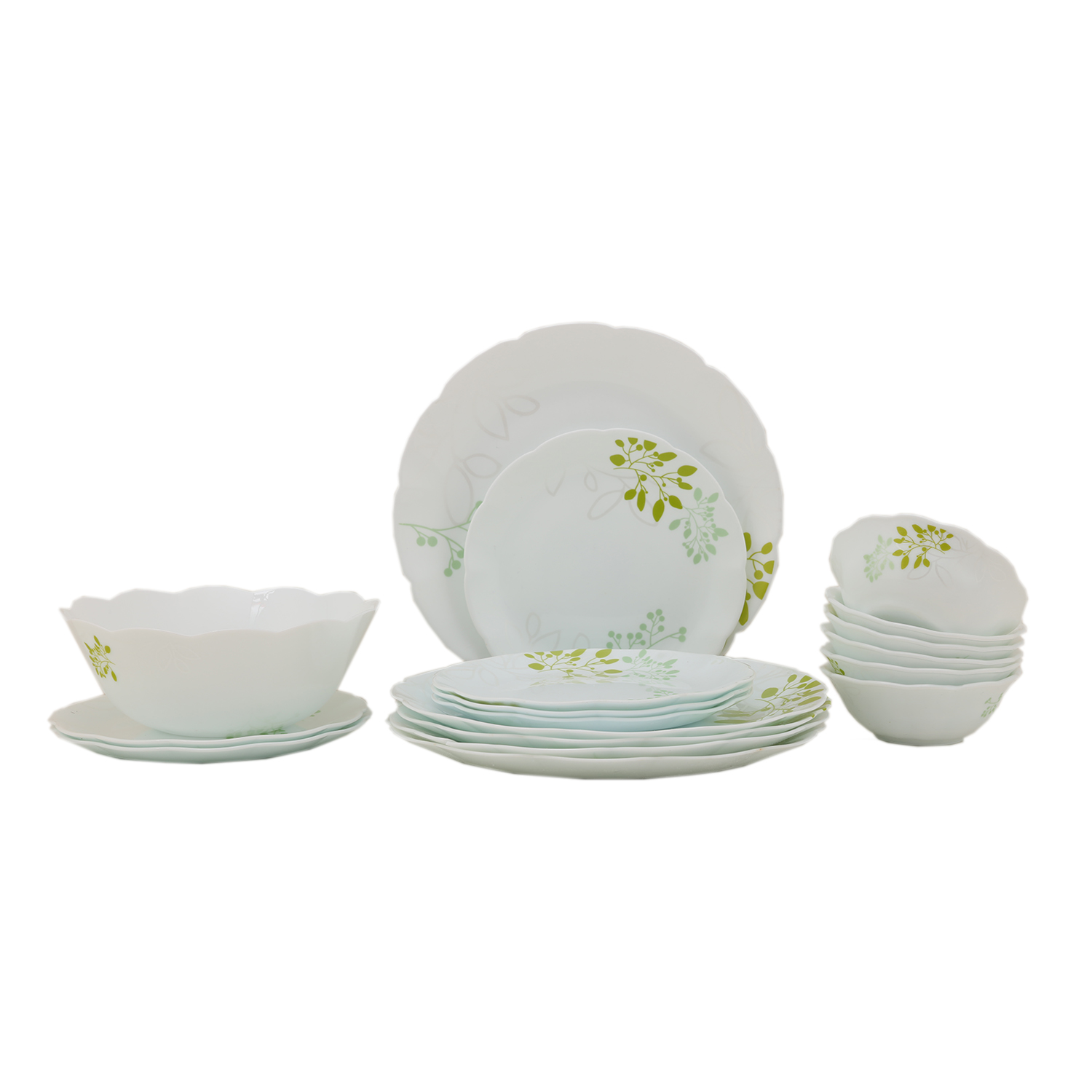 Dinner Sets in Multicolor Colour by Living Essence