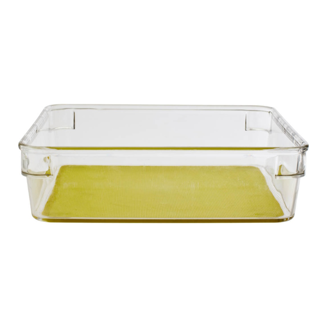 Living Essence Plastic Kitchen Organizers in Translucent Colour by Living Essence
