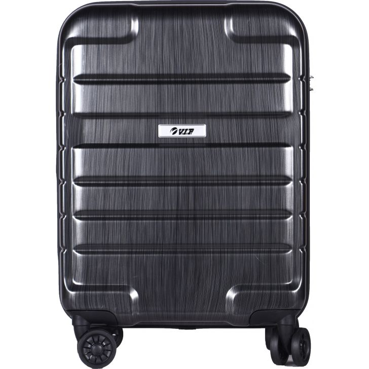 VIP HUMMER PVC Hard Trolley in Grey Colour by VIP