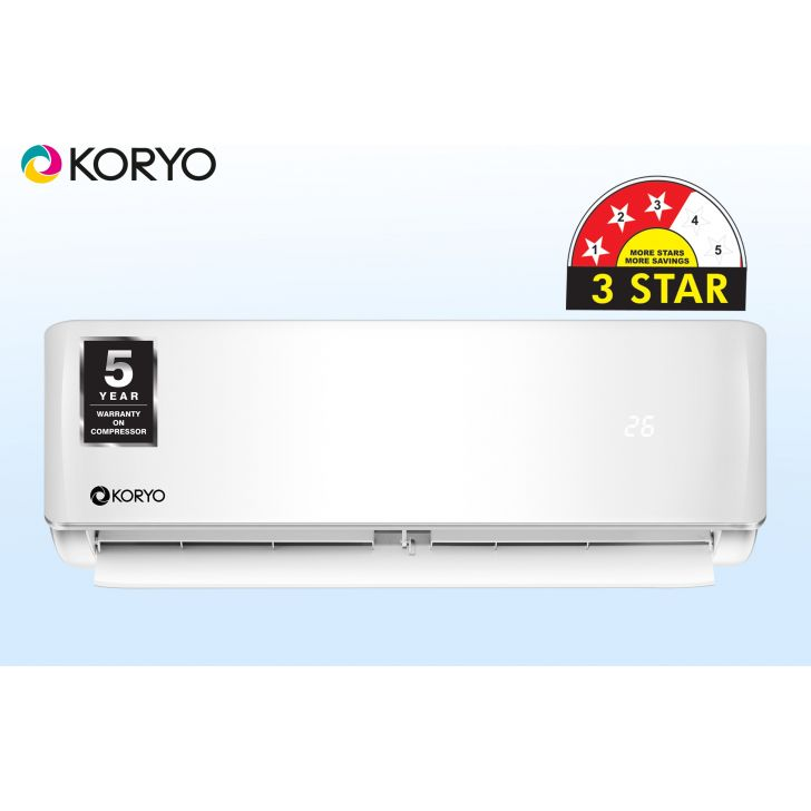 MGKSIAO2012A3S M12 Plastic Air Conditioner in White Colour by Koryo
