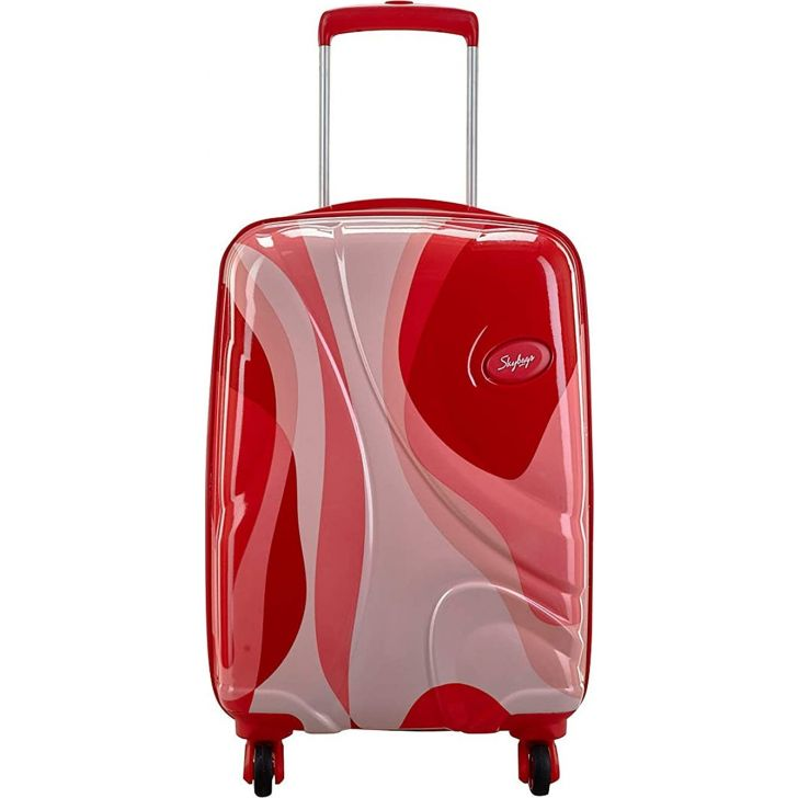 Rio 69cm Polycarbonate Hard Trolley in Red Colour by SKYBAGS