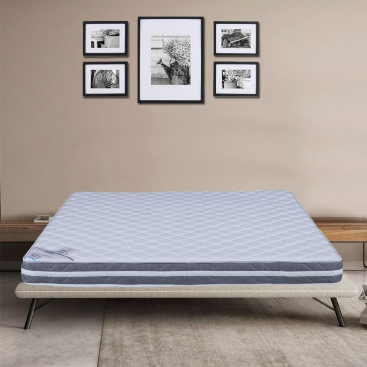 Spinepro Foam King Bed Mattress in White Colour by HomeTown