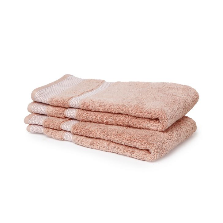 Spaces Hygro Coral Small 2 Pcs Hand Towel Set
