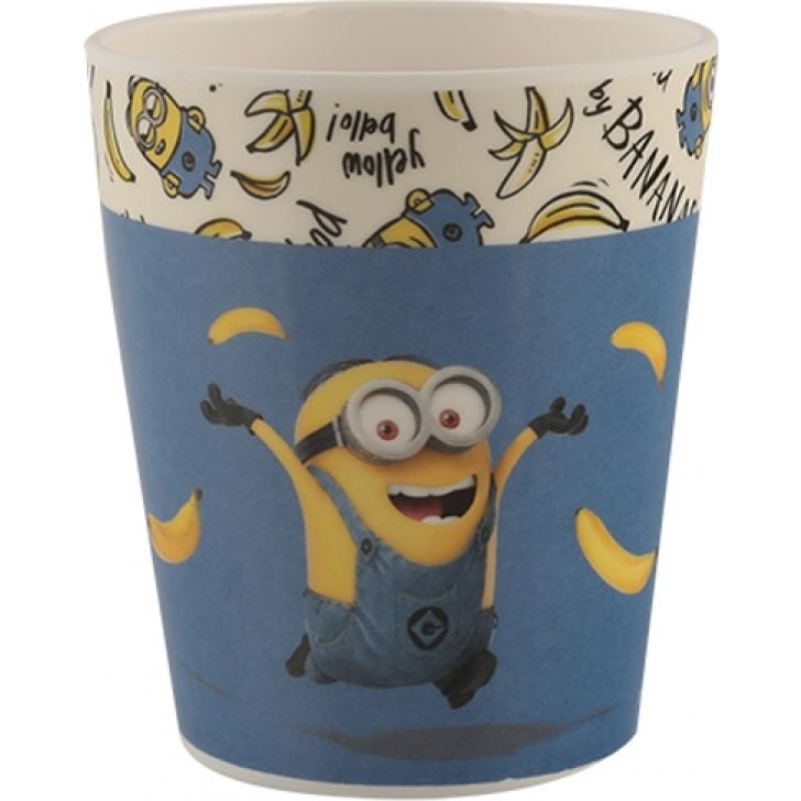Kids Glass- Minions Glasses & Tumblers in Multicolor Colour by Servewell