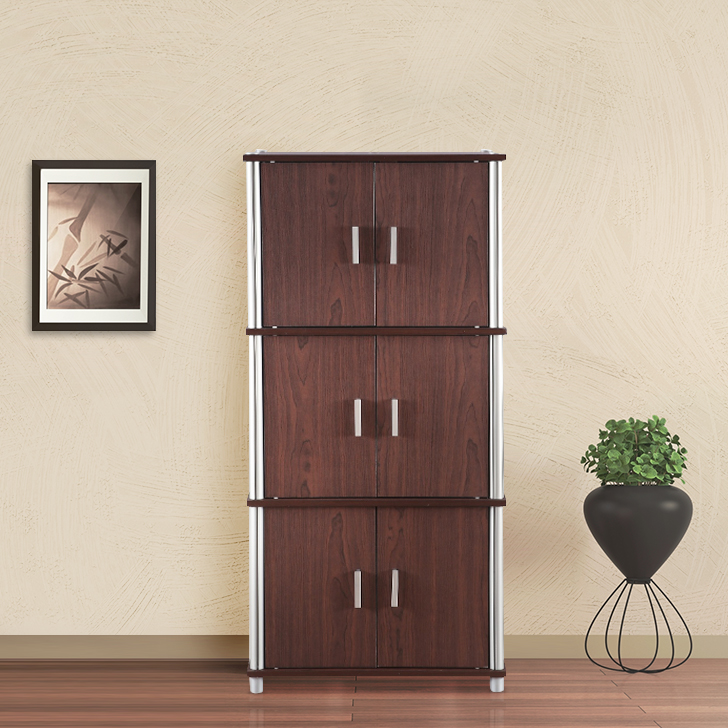 Jacob Engineered Wood Multipurpose Cabinet in Multi Color Colour by HomeTown