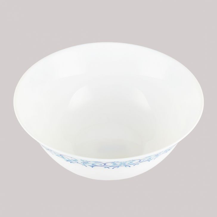 Diva Ivory Serving Bowl Royal Arch Glass Serving Bowls in White Colour by Diva