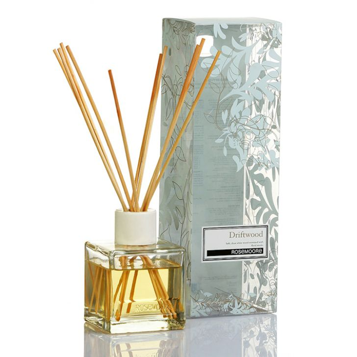 Rosemoore Scented Reed Diffuser Driftwood Driftwood Diffusers in White Colour by Rosemoore