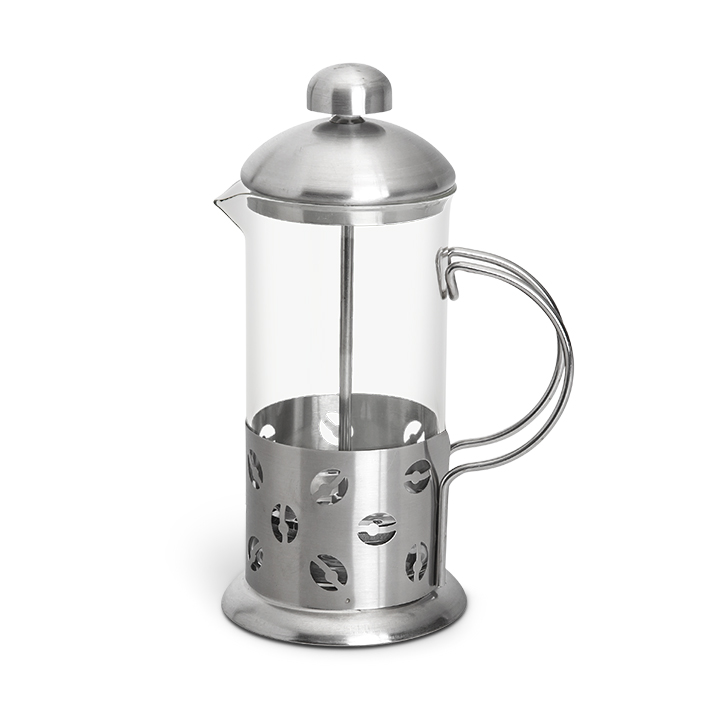 Coffee Plunger Big Stainless steel Accessories in Silver Colour by Living Essence