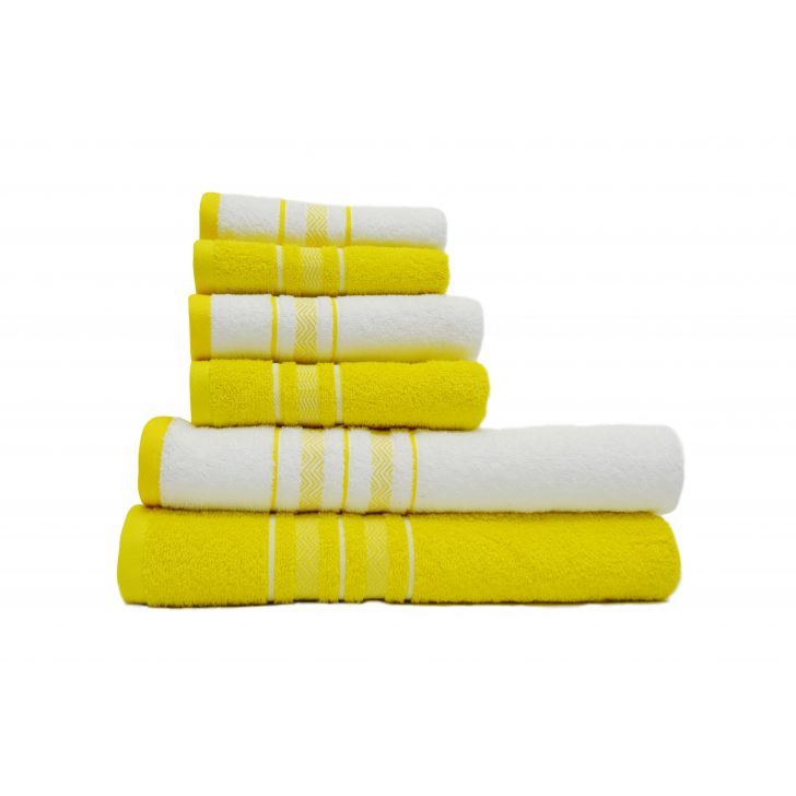 Spaces Value 6 Pc Cotton Towel Set