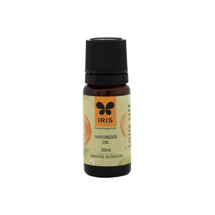 Iris Orange Blossom Revitalizing, Energizing Oil Scented Oil in Orange Colour by HomeTown