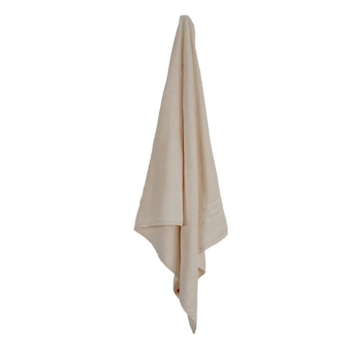 Bath Towel 70X140 Nora Almond Combed Cotton Bath Towels in Almond Colour by Living Essence